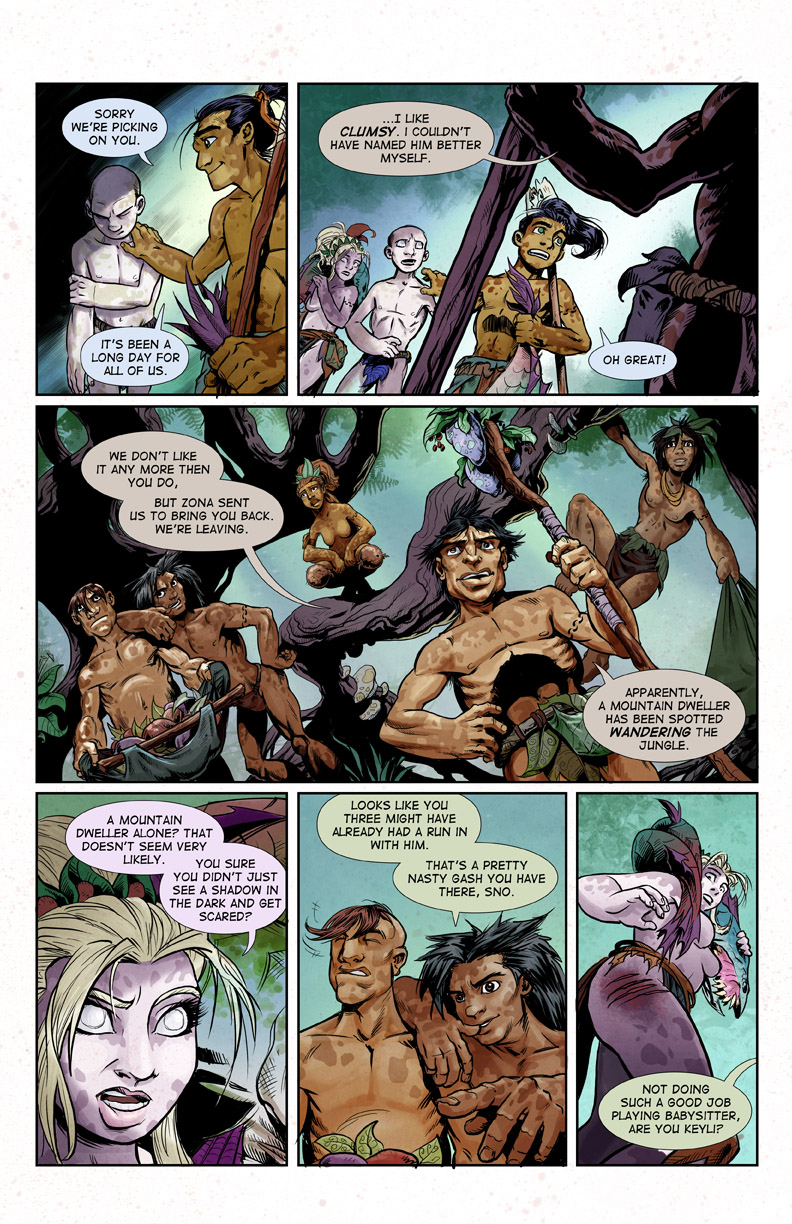 chapter 1 hominids comic