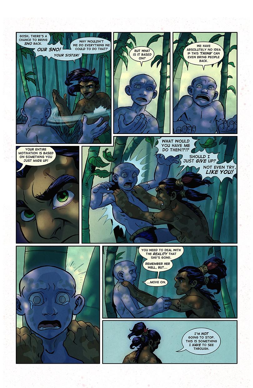 Impreg Comics Amazing chapter 8 - hominids comic